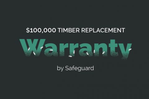 $100,000 Timber replacement warranty