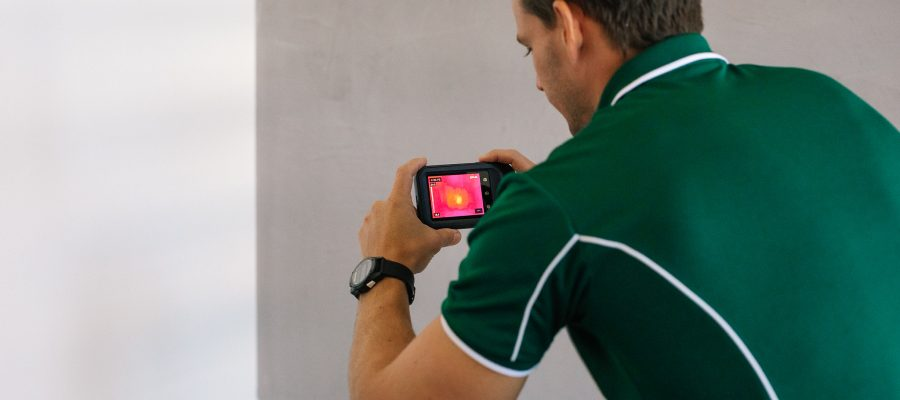 Thermal imaging termite inspections